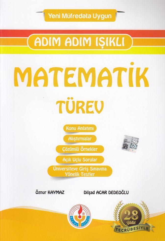 Bilal Işıklı Yayınları Matematik Türev Adım Adım Işıklı