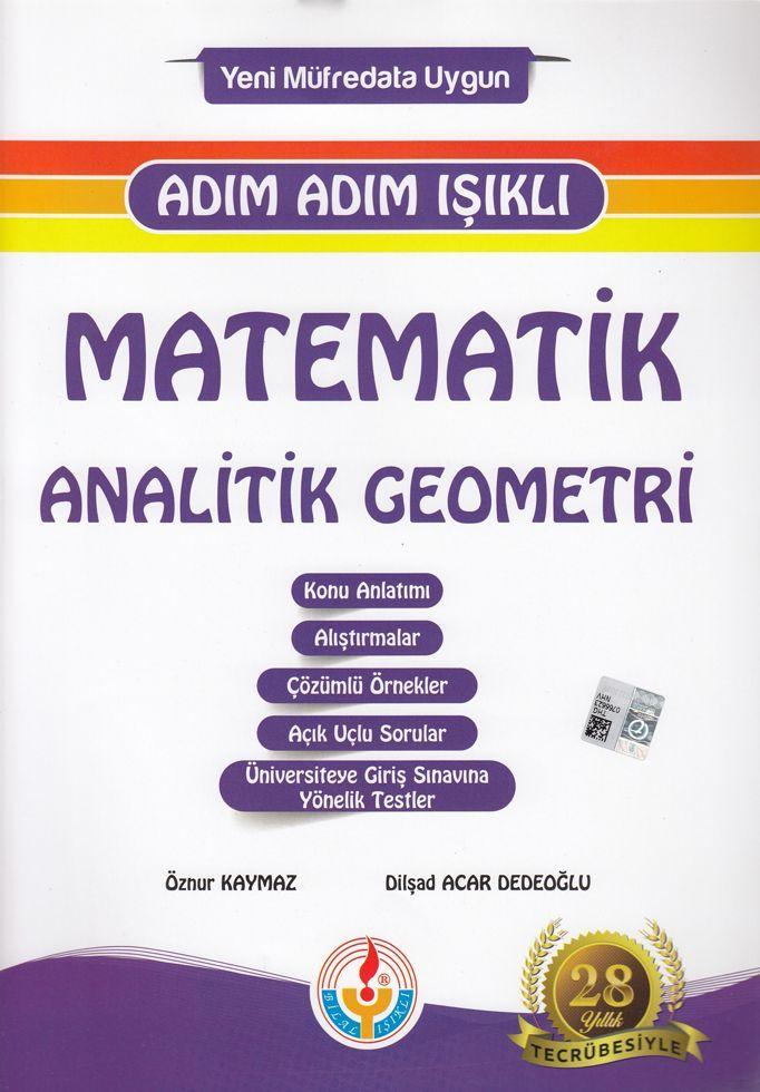 Bilal Işıklı Yayınları Matematik Analitik Geometri Adım Adım Işıklı