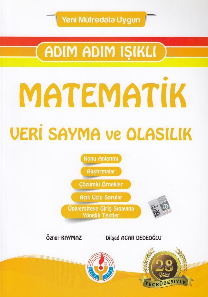 Bilal Işıklı Yayınları Matematik Veri Sayma ve Olasılık Adım Adım Işıklı
