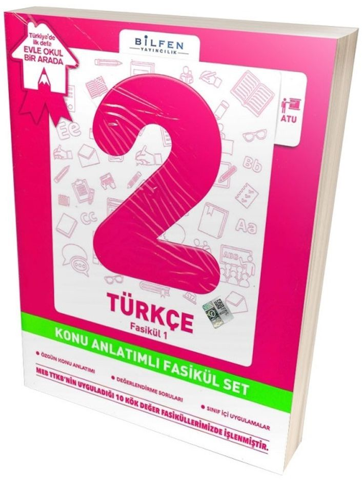 Bilfen Yayıncılık 2. Sınıf Türkçe Konu Anlatımlı Fasikül Set