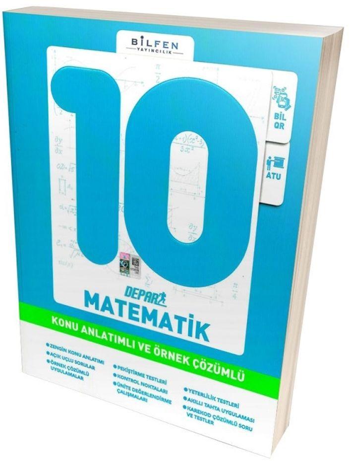 Bilfen Yayınları 10. Sınıf Matematik Depar Konu Anlatımlı ve Örnek Çözümlü