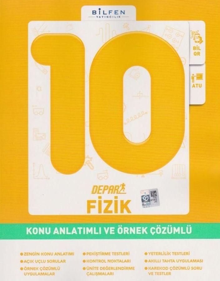 Bilfen Yayınları 10. Sınıf Fizik Depar Konu Anlatımlı Ve Örnek Çözümlü
