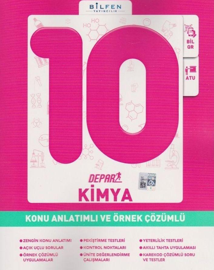 Bilfen Yayınları 10. Sınıf Kimya Depar Konu Anlatımlı Ve Örnek Çözümlü