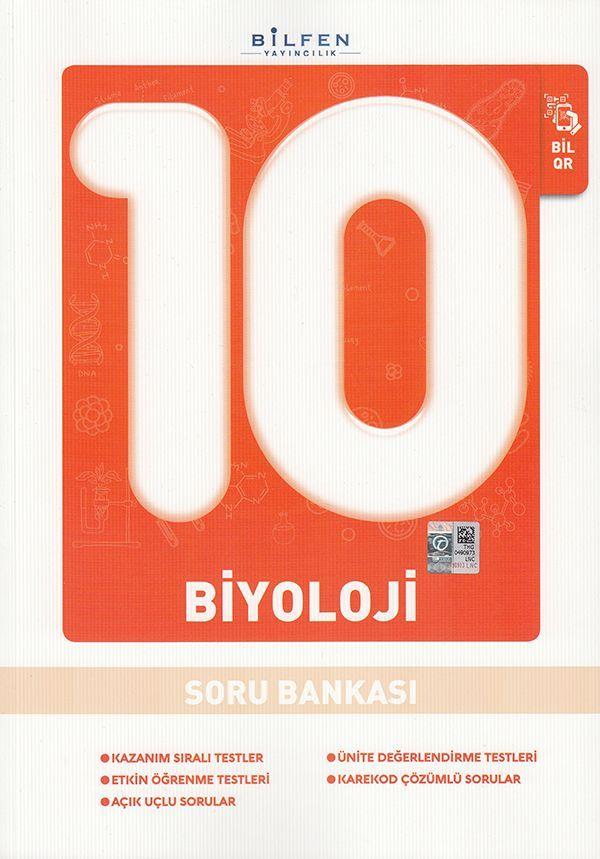 Bilfen Yayınları 10. Sınıf Biyoloji Soru Bankası