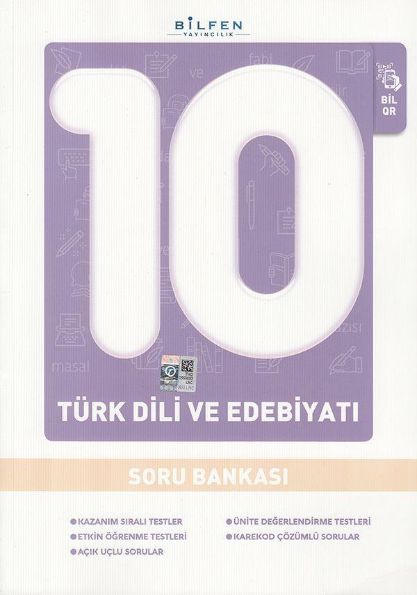 Bilfen Yayınları 10. Sınıf Türk Dili ve Edebiyatı Soru Bankası