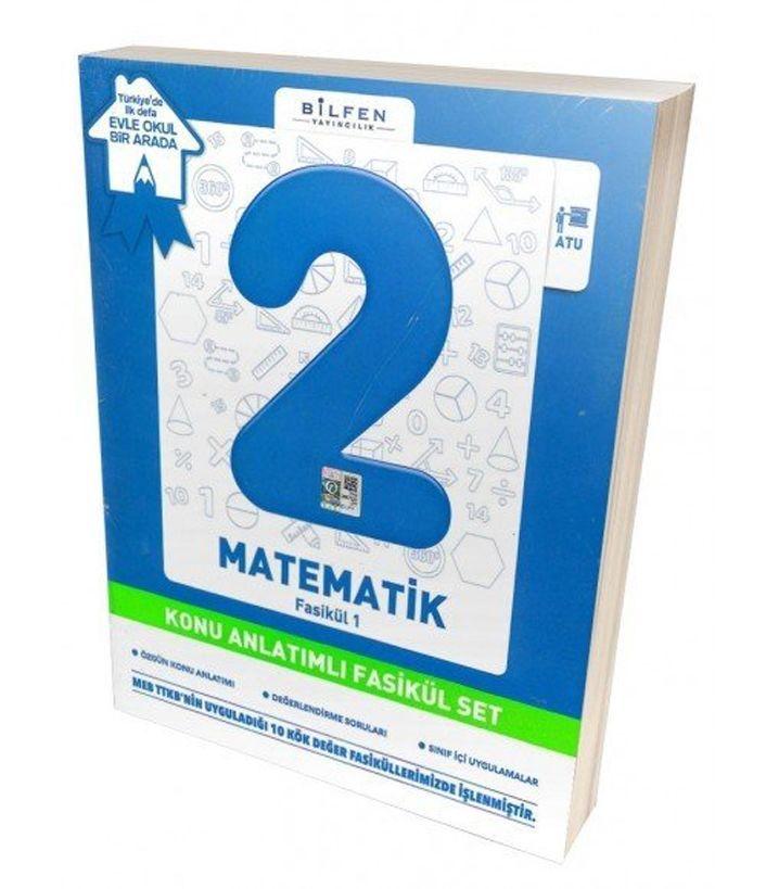 Bilfen Yayınları 2. Sınıf Matematik Konu Anlatımlı Fasikül Set