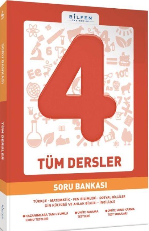 Bilfen Yayınları 4. Sınıf Tüm Dersler Soru Bankası