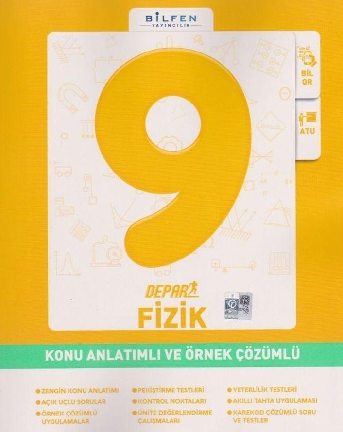 Bilfen Yayınları 9. Sınıf Fizik Depar Konu Anlatımlı Ve Örnek Çözümlü