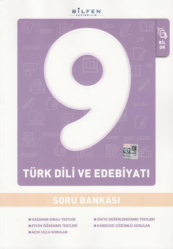 Bilfen Yayınları 9. Sınıf Türk Dili ve Edebiyatı Soru Bankası