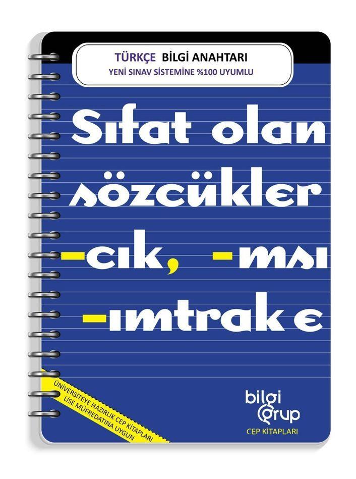 Bilgi Grup Yayınları Türkçe Bilgi Anahtarı Cep Kitabı