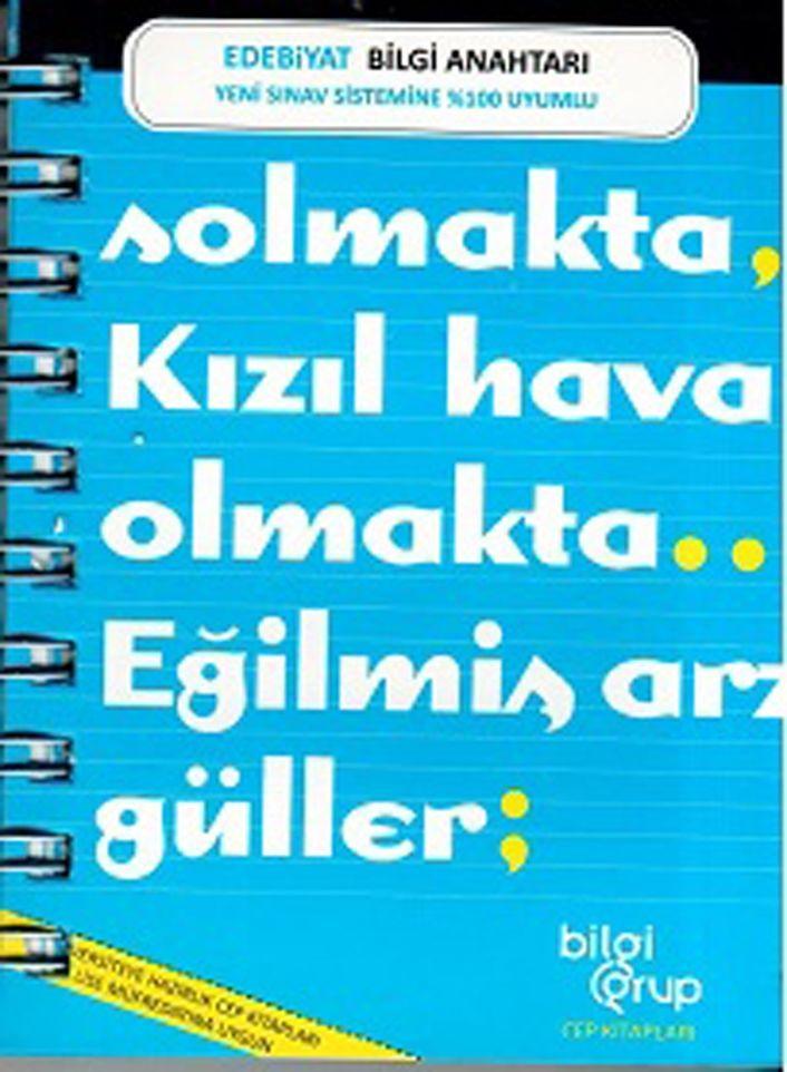 Bilgi Grup Yayınları Edebiyat Bilgi Anahtarı Cep Kitabı