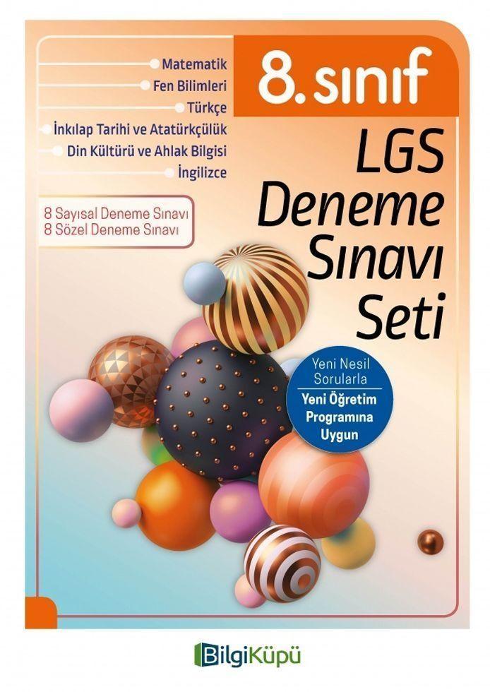 Bilgi Küpü Yayınları 8.Sınıf LGS Deneme Sınav Seti
