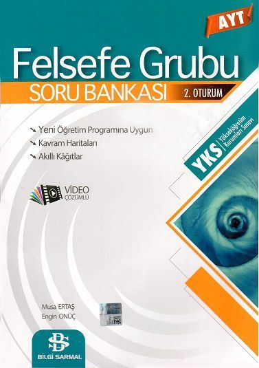 Bilgi Sarmal Yayınları AYT Sarmal Felsefe Grubu Soru Bankası