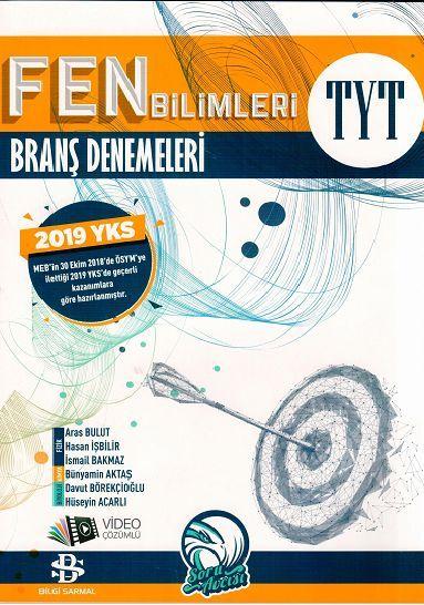 Bilgi Sarmal Yayınları TYT Fen Bilimleri Branş Denemeleri