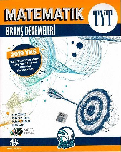 Bilgi Sarmal Yayınları TYT Matematik Sarmal Denemeleri