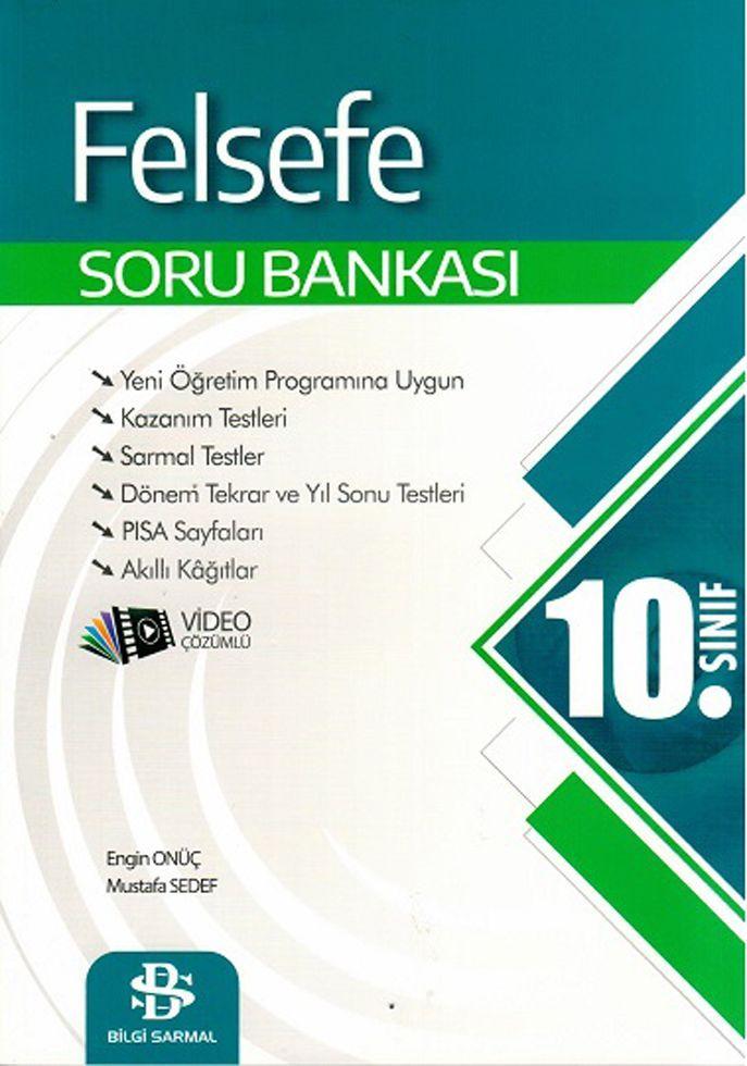 Bilgi Sarmal Yayınları 10. Sınıf Felsefe Soru Bankası