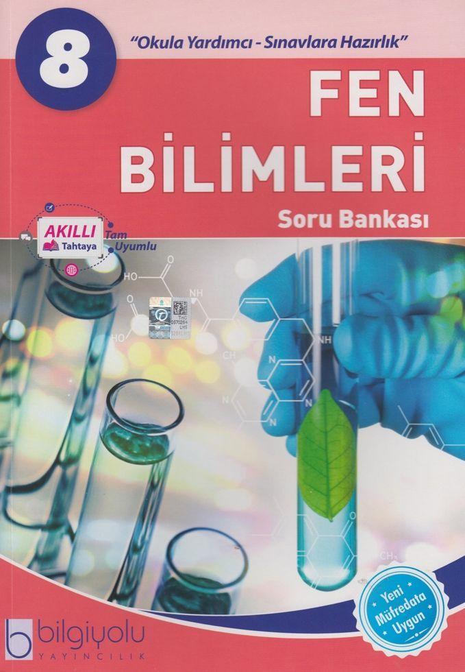 Bilgiyolu Yayıncılık 8. Sınıf Fen Bilimleri Soru Bankası