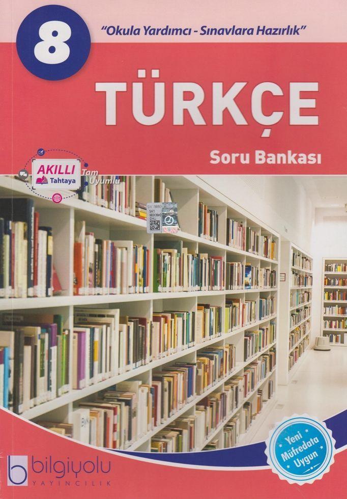 Bilgiyolu Yayıncılık 8. Sınıf Türkçe Soru Bankası