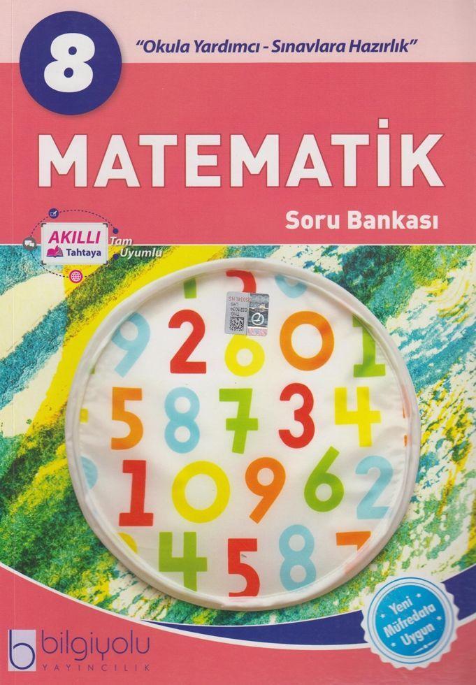Bilgiyolu Yayıncılık 8. Sınıf Matematik Soru Bankası