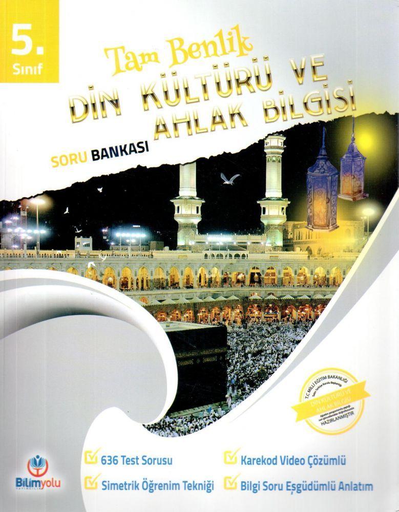 Bilimyolu Yayıncılık 5. Sınıf Din Kültürü ve Ahlak Bilgisi Tam Benlik Soru Bankası