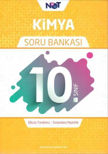BiNot Yayınları 10. Sınıf Kimya Soru Bankası