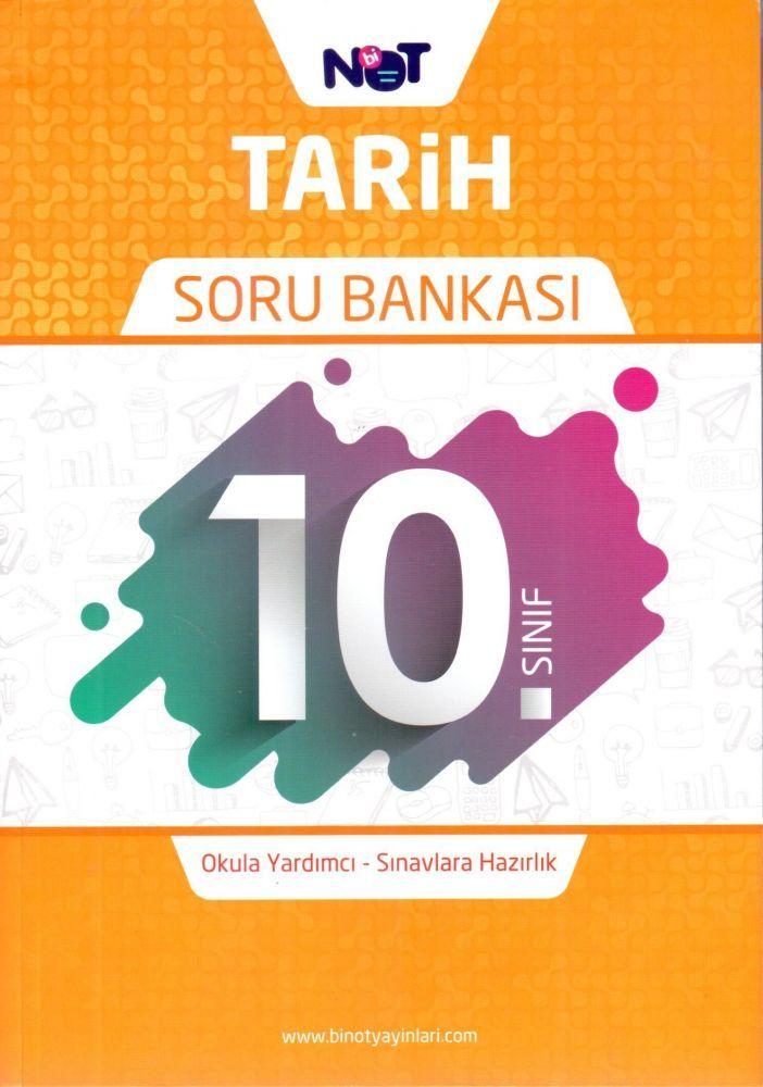 BiNot Yayınları 10. Sınıf Tarih Soru Bankası