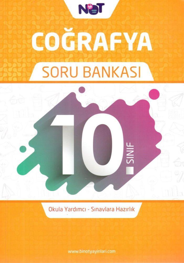 BiNot Yayınları 10. Sınıf Coğrafya Soru Bankası