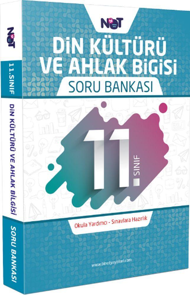 BiNot Yayınları 11. Sınıf Din Kültürü ve Ahlak Bilgisi Soru Bankası