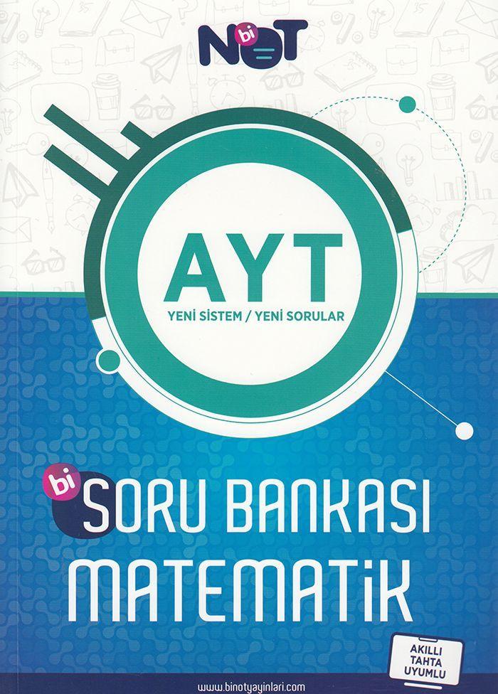 BiNot Yayınları AYT Bi Matematik Soru Bankası