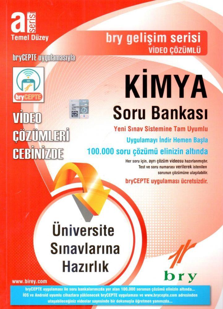 Birey A Serisi Temel Düzey Kimya Video Çözümlü Soru Bankası