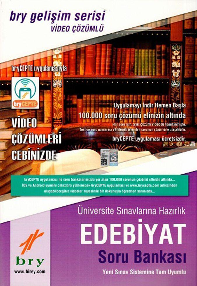 Birey Yayınları Üniversite Sınavlarına Hazırlık Edebiyat Video Çözümlü Soru Bankası Gelişim Serisi
