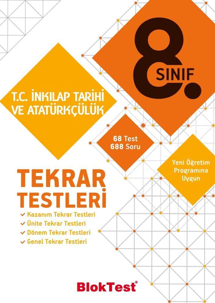 Bloktest Yayınları 8. Sınıf T.C. İnkılap Tarihi ve Atatürkçülük Tekrar Testleri