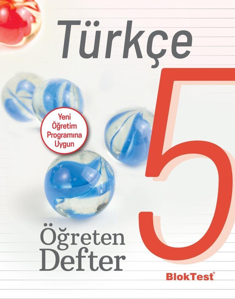 Bloktest Yayınları 5. Sınıf Türkçe Öğreten Defter
