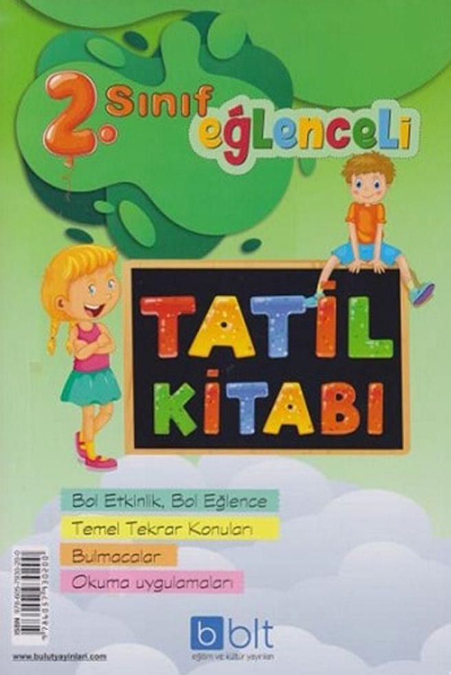 Bulut Eğitim ve Kültür Yayınları 2. Sınıf Eğlenceli Tatil Kitabı