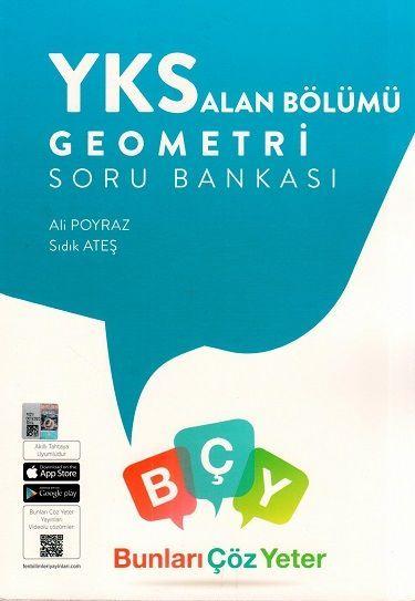 Bunları Çöz Yeter Yayınları YKS Alan Bölümü Geometri Soru Bankası
