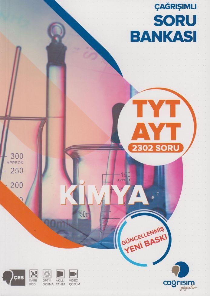 Çağrışım Yayınları TYT AYT Kimya Soru Bankası