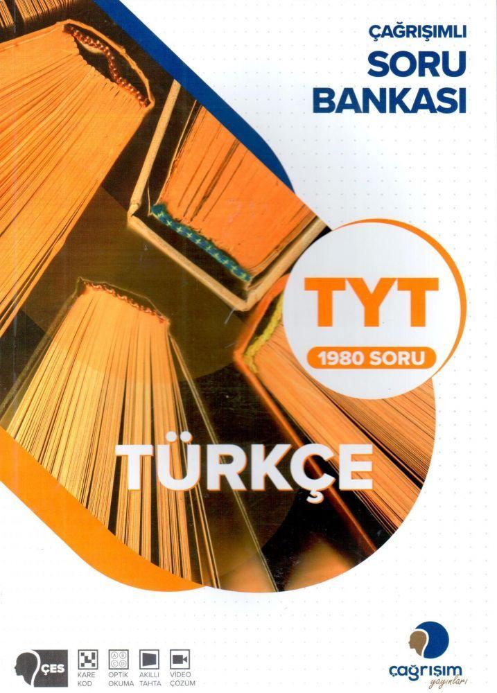 Çağrışım Yayınları TYT Türkçe 1980 Soru Bankası