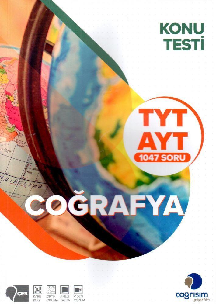 Çağrışım Yayınları TYT AYT Coğrafya 1047 Konu Testi