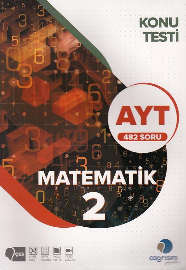 Çağrışım Yayınları AYT Matematik Konu Testi