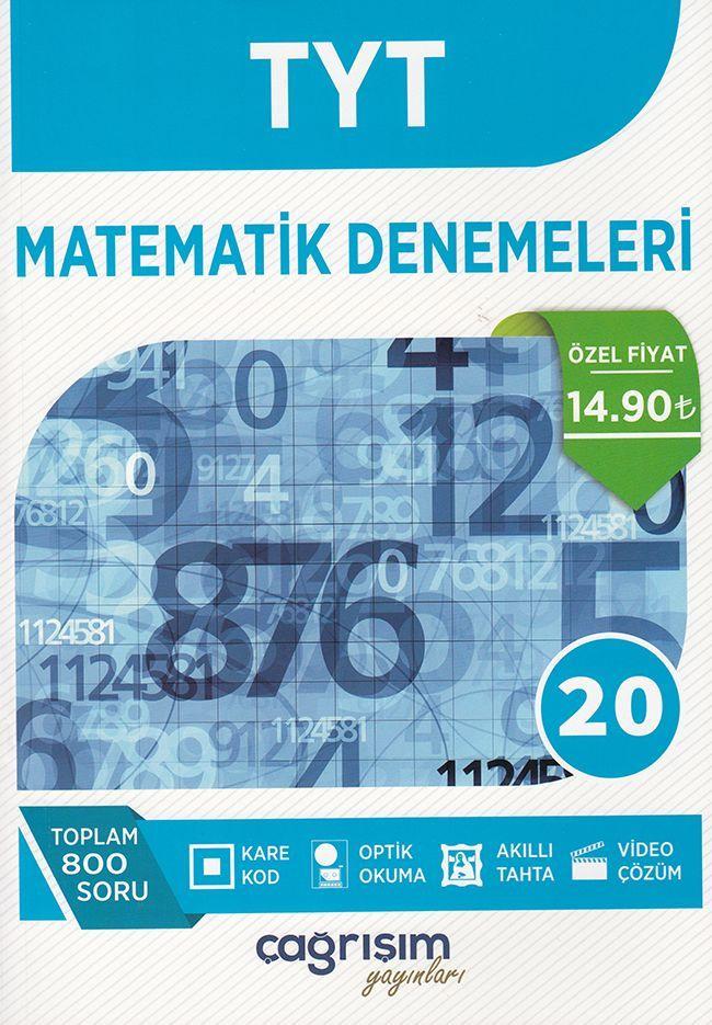 Çağrışım Yayınları TYT Matematik Denemeleri 20 li