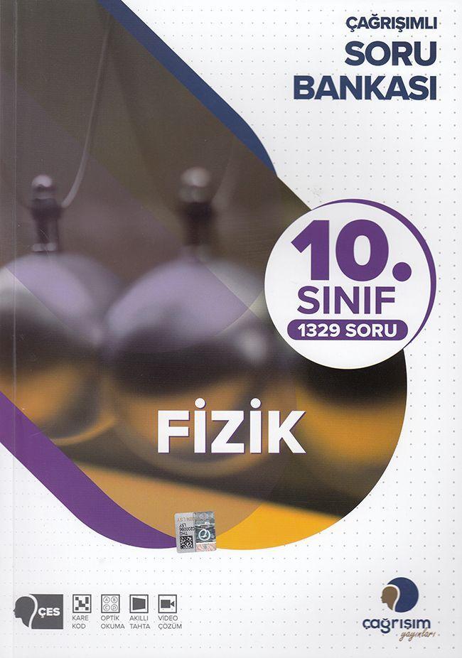 Çağrışım Yayınları  10. Sınıf Fizik Soru Bankası