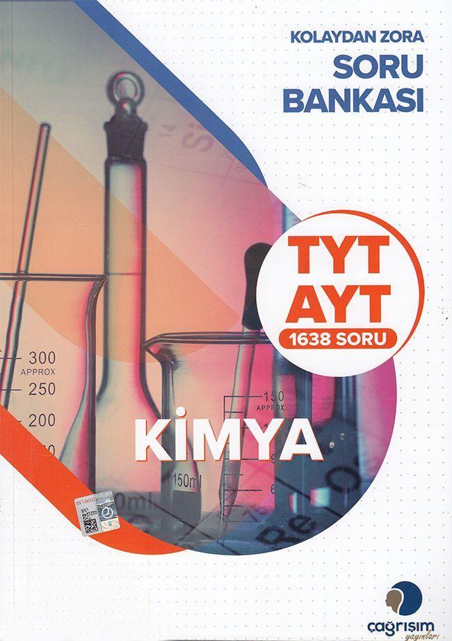 Çağrışım Yayınları TYT AYT Kimya Kolaydan Zora Soru Bankası