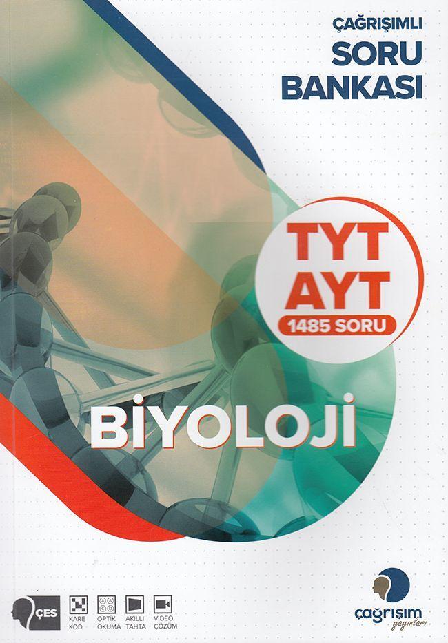 Çağrışım Yayınları TYT AYT Biyoloji Soru Bankası