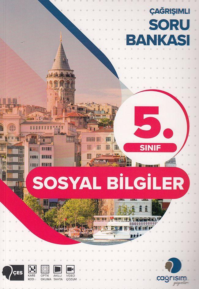 Çağrışım Yayınları 5. Sınıf Sosyal Bilgiler Soru Bankası