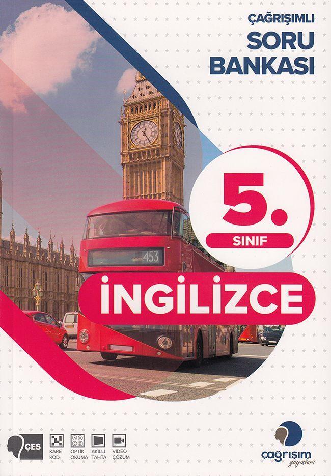 Çağrışım Yayınları 5. Sınıf İngilizce Soru Bankası