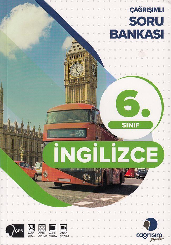 Çağrışım Yayınları 6. Sınıf İngilizce Soru Bankası