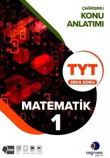 Çağrışım Yayınları TYT Matematik 1 Konu Anlatım