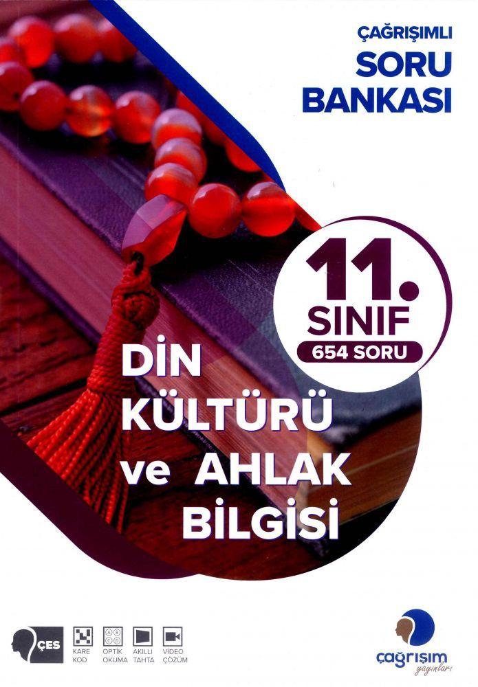 Çağrışım Yayınları 11. Sınıf Din Kültürü ve Ahlak Bilgisi Soru Bankası