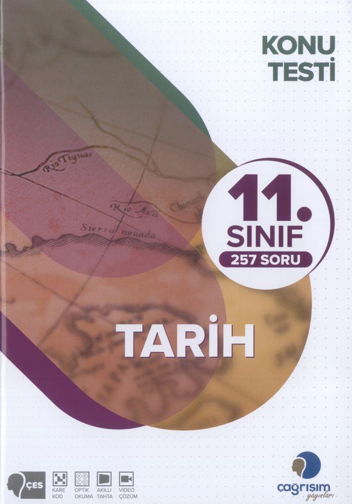 Çağrışım Yayınları 11. Sınıf Tarih Konu Testi
