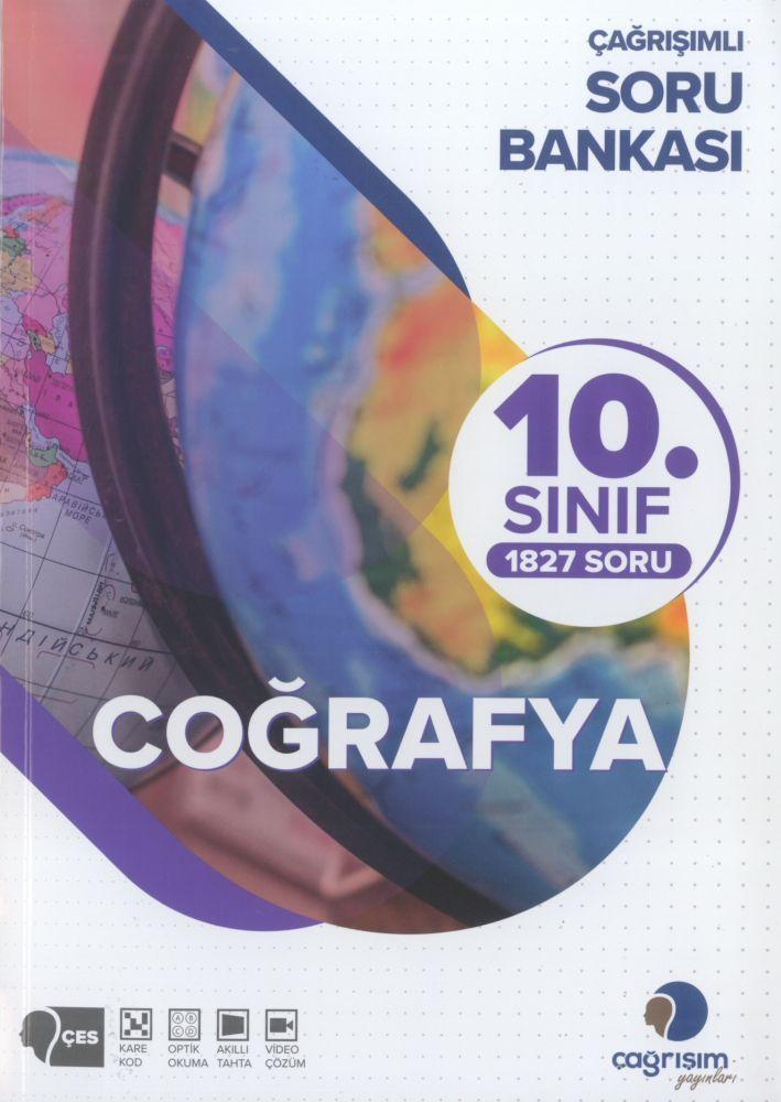 Çağrışım Yayınları 10. Sınıf Coğrafya Soru Bankası